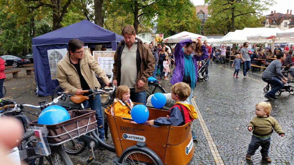 Lastenrad Beratung für das Babboe Curve elektrisch