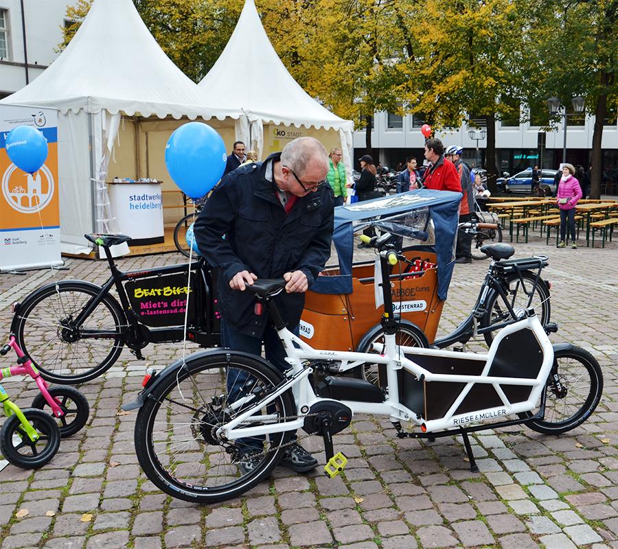Das teilbare Riese und Müller Load Lastenrad mit Bosch Mittelmotor.