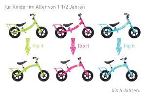 Yuba Flip Flop Cargo Bike Kids