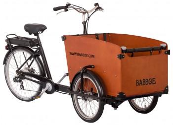 Babboe Big-E - Holzkasten
