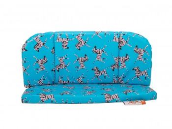 Babboe City / Curve / Carve Sitzkissen für Zusatzbank - blau