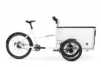 Butchers & Bicycles MK1-E - glänzend weiß