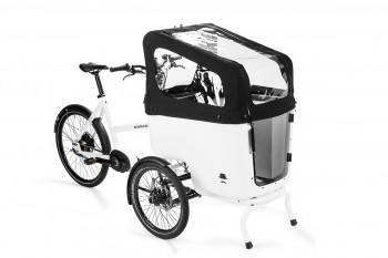 Butchers & Bicycles Regendach -  schwarz