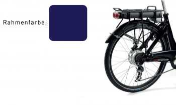 Luxe E-solution 11Ah 36V - blau