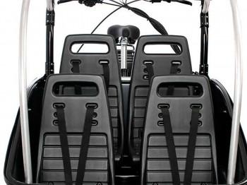 winther Luxe vier Kunststoffsitze aus Spritzguss