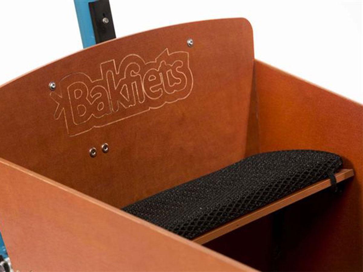 Bakfiets Ventisit Sitzbankauflage (2-Sitzer) - schwarz