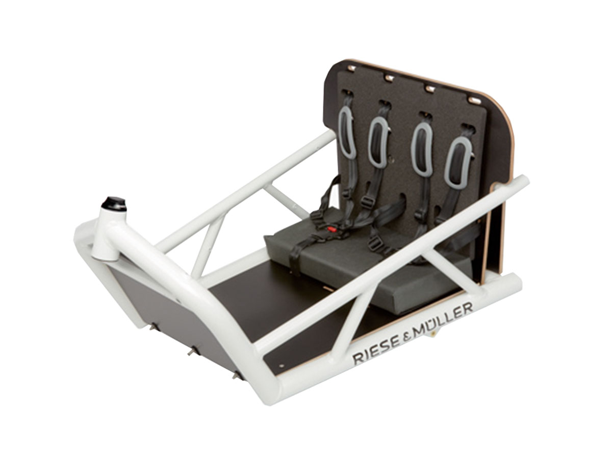 Riese & Müller Load Doppel-Kindersitz