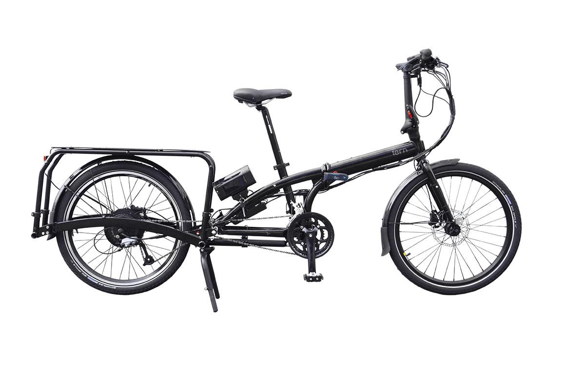 Tern eCargo Node - Das elektrische Falt-Lastenrad