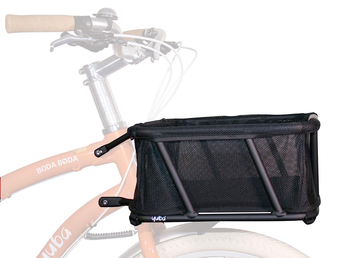 Yuba Bread Basket - Frontkorb mit Auskleidung