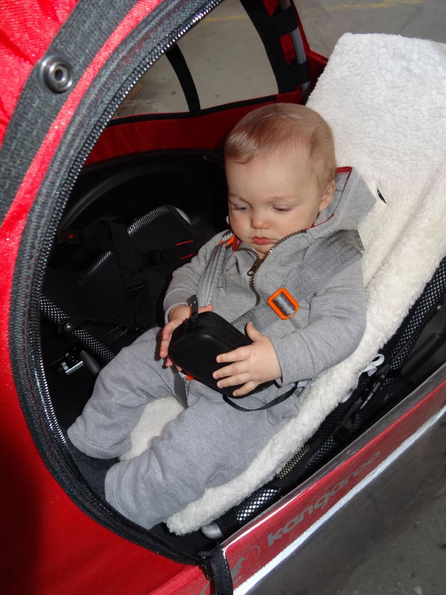 Weber Babyschale Einbau Croozer