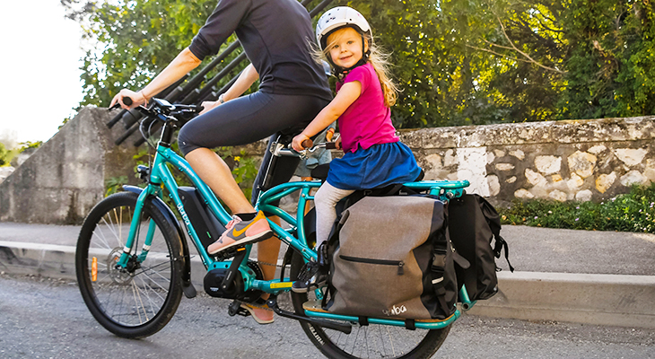 Yuba Bicycle Electric Boda Boda Lastenfahrrad
