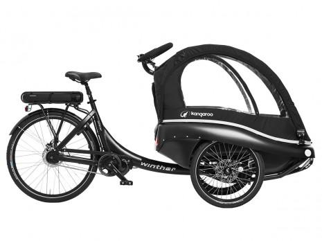 winther Kangaroo Luxe STePS E6100 - elektrisch