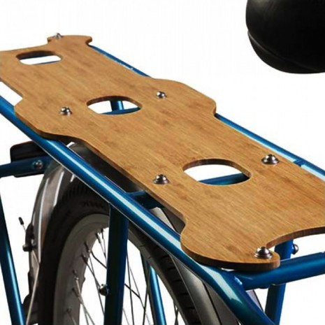 Yuba Mundo Bamboo Deck - Bambussitz