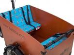 Babboe Big Sitzkissen-Set - blau