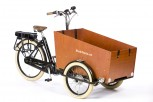 Bakfiets e-Cruiser Wide Ebike Lastenrad für Kindertransport