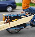 Transportfahrräder für Handwerker