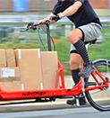 Transportfahrräder für Kuriere